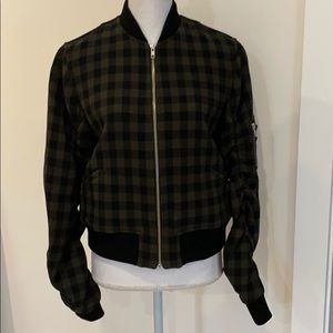Excellent condition A.L.C. Andrew Wool Bomber